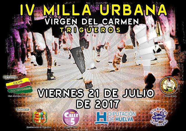Trigueros celebra la Milla Virgen del Carmen