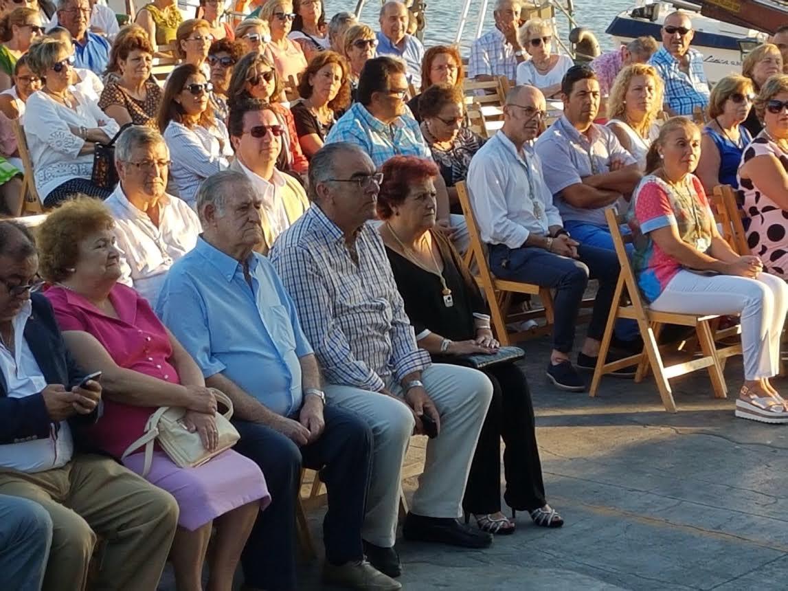 Misa en Honor a la Virgen del Carmen en la Lonja de Isla Cristina