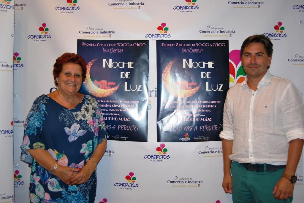 Este viernes vuelve La Noche de Luz a Isla Cristina