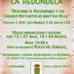 Ruta de Visitas a los Edificios más relevantes del Patrimonio de la Villa de La Redondela