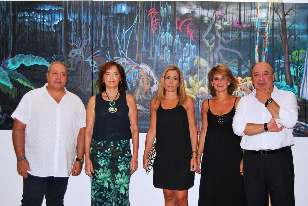 La sevillana Araceli Parra expone en Isla Cristina