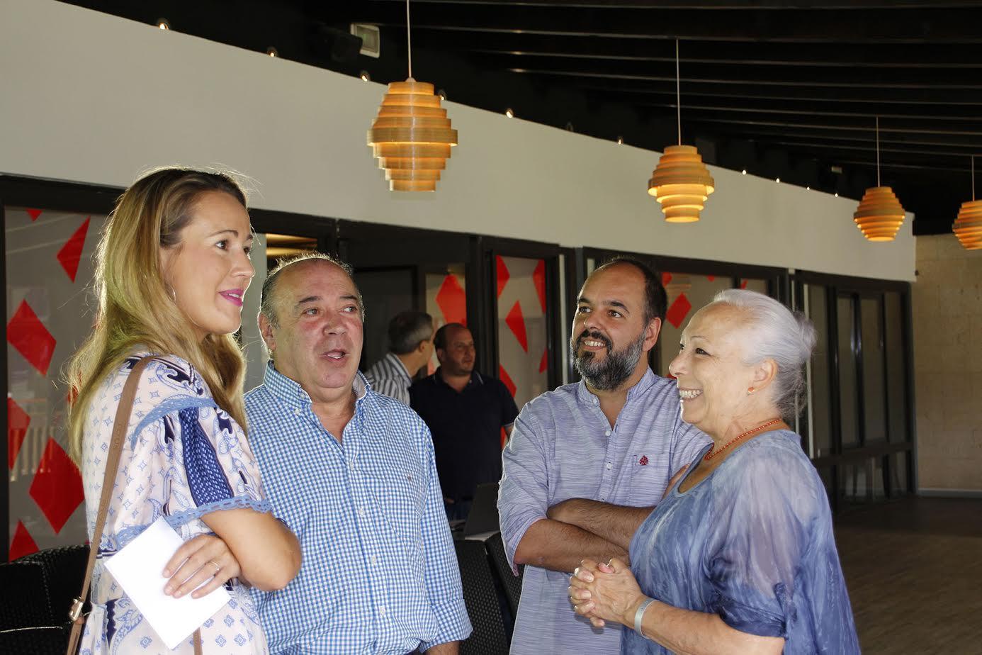 Declaraciones de Cristina Hoyos con motivo de su Premio 'Luis Ciges' en el Festival de Islantilla