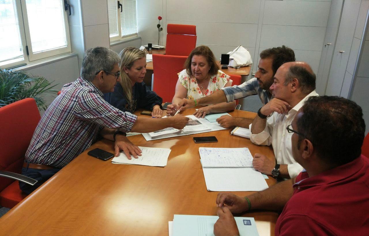 El Equipo de Gobierno isleño se reúne con los máximos responsables en Giahsa