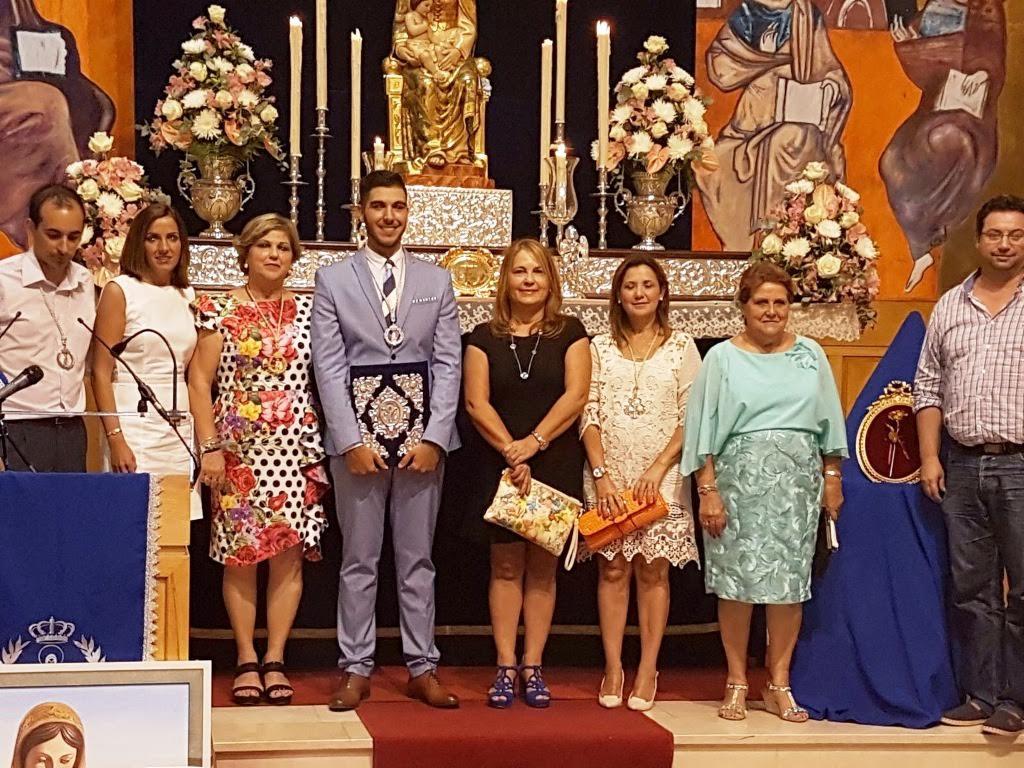 Manuel Ramos pregonó las Fiestas en Honor a la Virgen del Mar