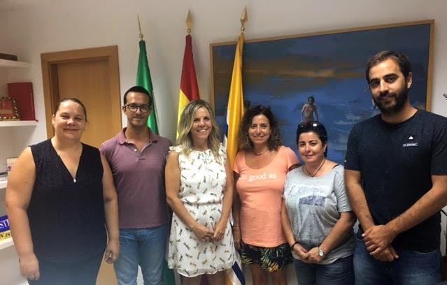 Concejalas de Canet de Mar visitan Isla Cristina