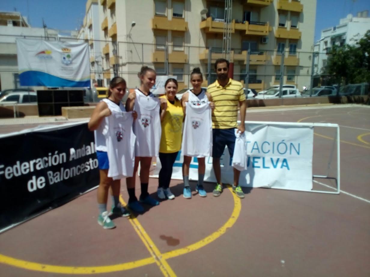 Disputado el Torneo de Baloncesto 3x3 en Isla Cristina