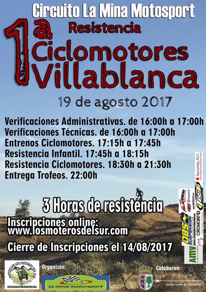 1ª Resistencia Ciclomotores de Villablanca