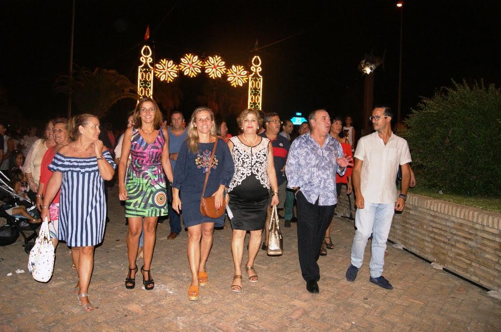 Comienzan las Fiestas en Honor a la Virgen del Mar en Isla Cristina