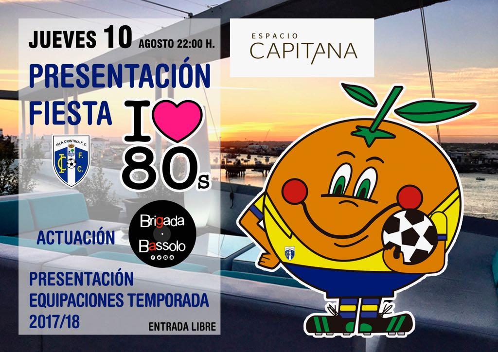 El Isla Cristina FC celebra este sábado en el Auditorio del Parque Central su fiesta dedicada a los 80