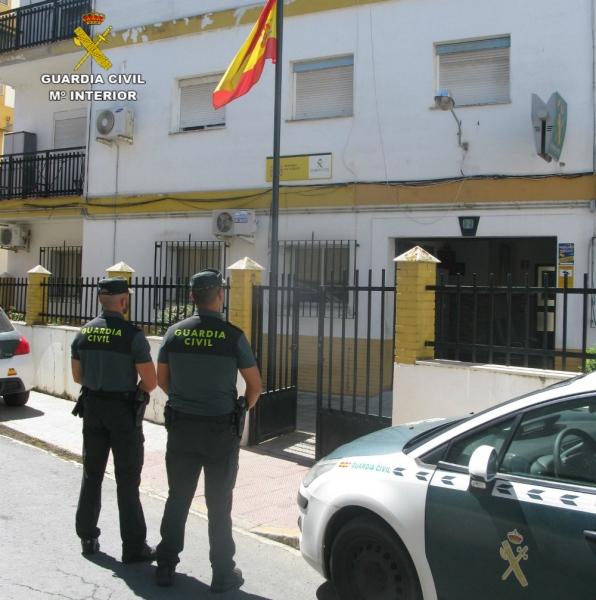 Detienen al 'ladrón del gato hidráulico' en Isla Cristina