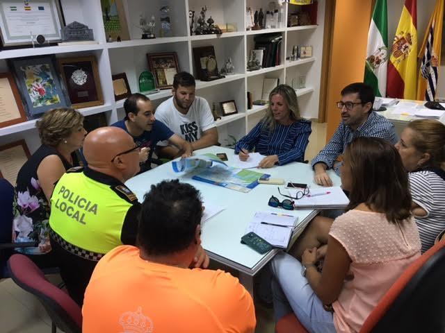 Celebrada la Junta Local de Seguridad para las Fiestas de la Virgen del Mar de Punta del Caimán