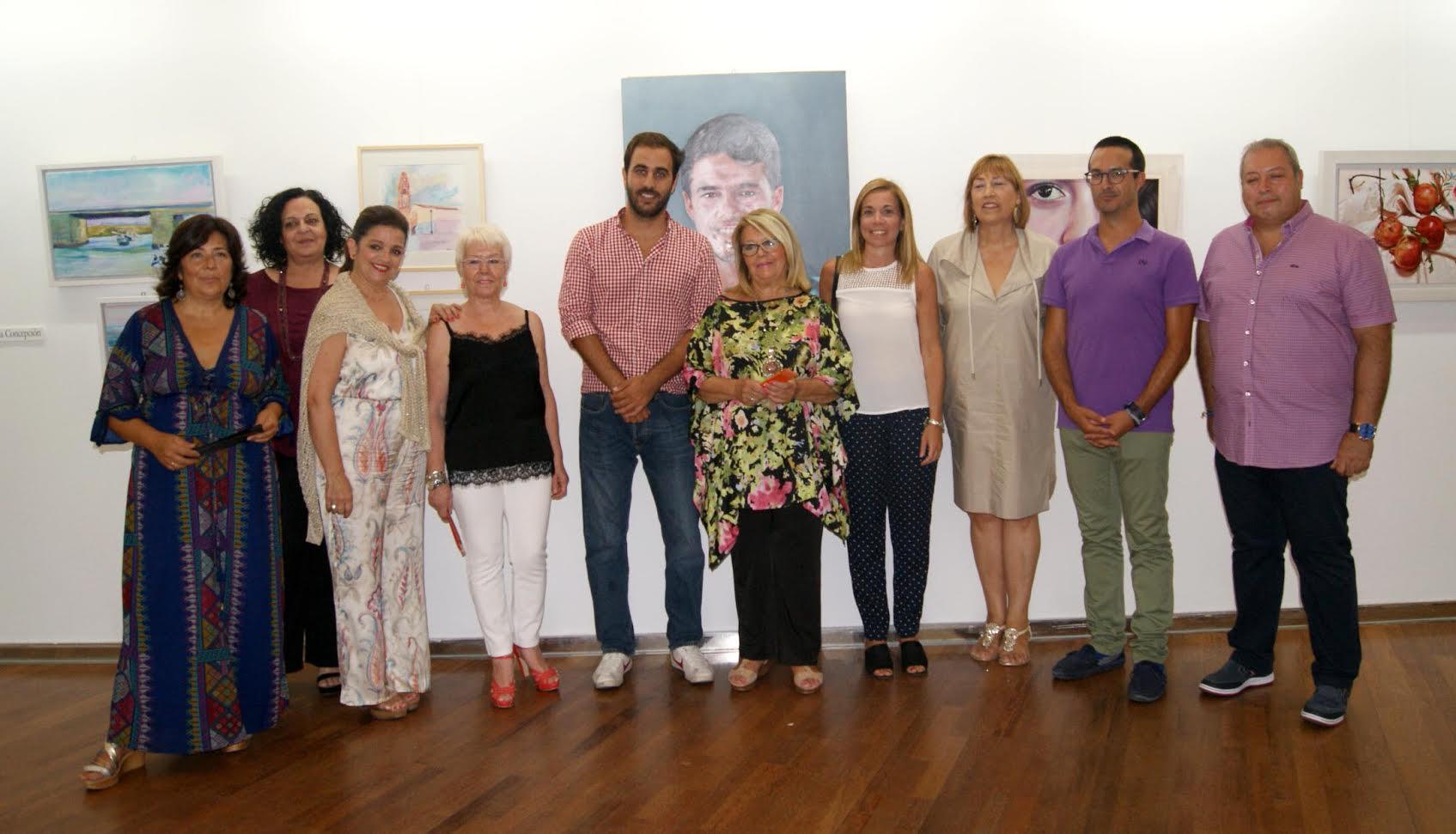 Exposición de mujeres ayamontinas en Isla Cristina
