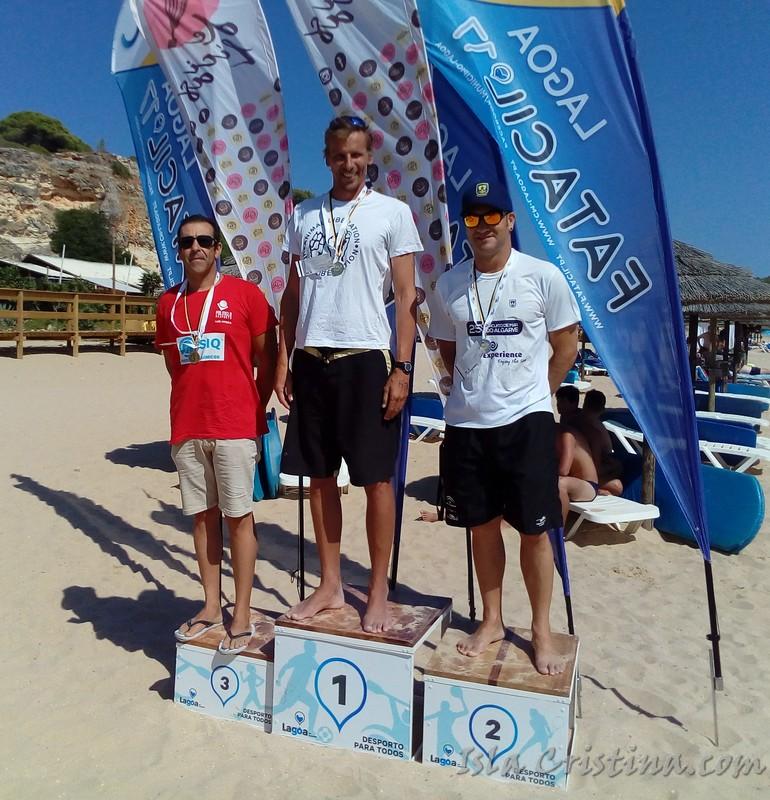 Rubén Gutiérrez doble pódium en el Algarve, en ambas ocasiones medalla de plata