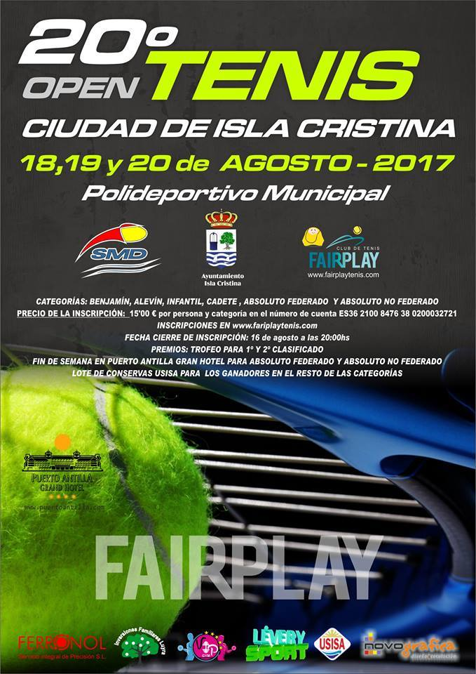 20º Open de Tenis Ciudad de Isla Cristina