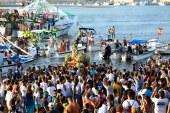 Desembarco de la Virgen del Mar de la Punta del Caimán