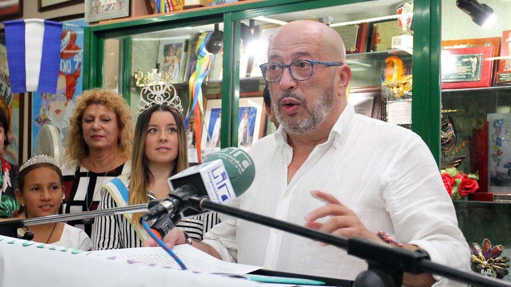 Antonio Cabezas Reyes, pregonero del Carnaval Colombino 2018