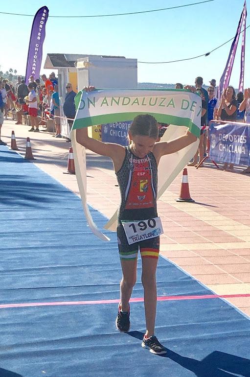 Cristina Jiménez, Lucía Fernández e Iván Ortíz Campeones de Andalucía