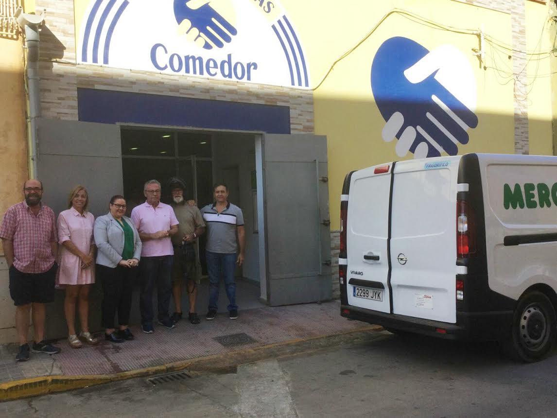 Mercadona comienza a colaborar con el Comedor Social Manos Solidarias de Isla Cristina