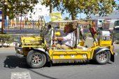 Recorrido de la IV Concentración Internacional de Vehículos Clásicos Ciudad de Isla Cristina