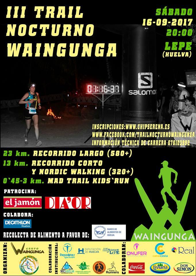 III Trail – NW Nocturno Waingunga