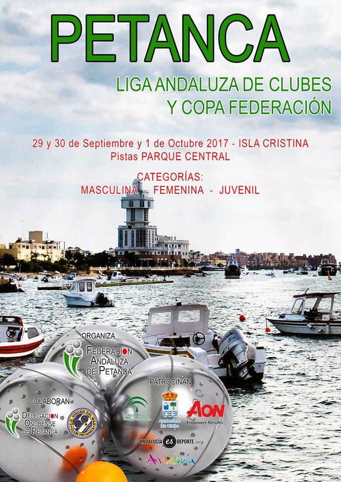 Isla Cristina acogerá este fin de semana la Liga Andaluza y Copa Federación de Petanca