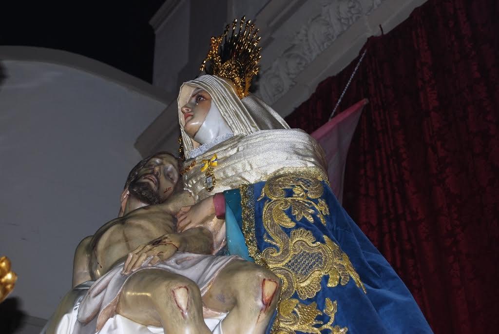 La Piedad y Cristo del Amor recibe la Medalla de la Ciudad de Isla Cristina en su 75º Aniversario