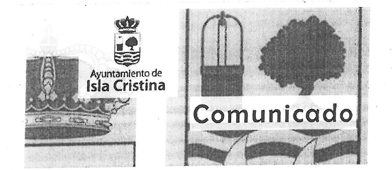 Se cierra la Piscina Municipal de Isla cristina aconsejado por informes técnicos