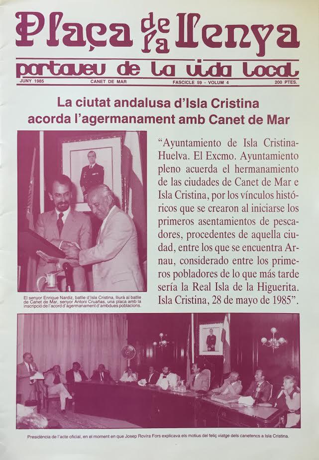 Documento Histórico del mes de Septiembre 2017 del Ayuntamiento de Isla Cristina