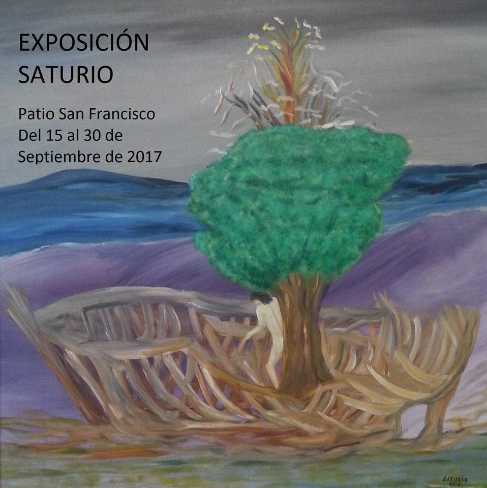 """Isla Cristina acoge hoy viernes la """"Exposición Saturio"""" de Francisco Jesús Santiago"""