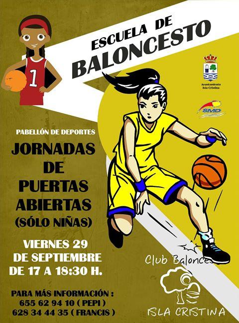 Jornadas de Puertas abiertas del Club Baloncesto Isla Cristina