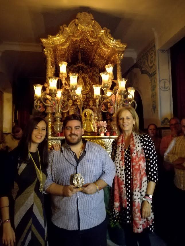 Juan Luis Camacho canta la Salve en Isla Cristina