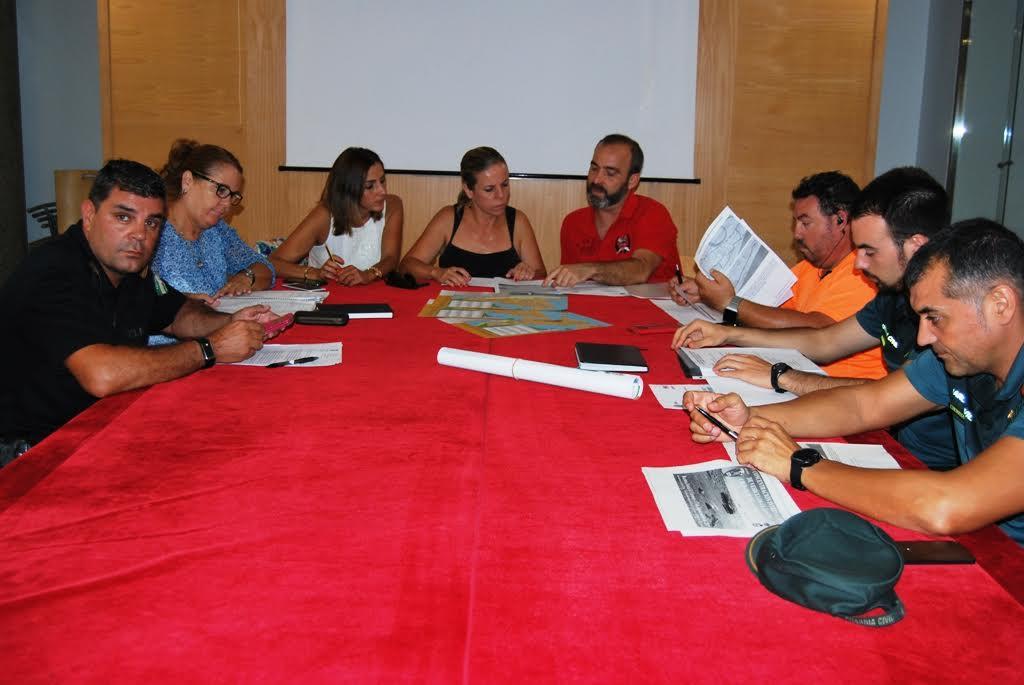 Celebrada la Junta Local de Seguridad para la Concentración de Vehículos Clásicos en Isla Cristina