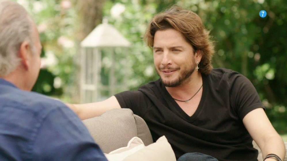 Manuel Carrasco en el programa de telecinco 'Mi casa es la tuya'