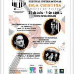 Memoria del Festival Internacional de Música de Cámara celebrado el pasado julio y agosto en Isla Cristina