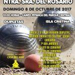 Isla Cristina Alberga el Torneo de Petanca Virgen del Rosario el domingo 8 de octubre