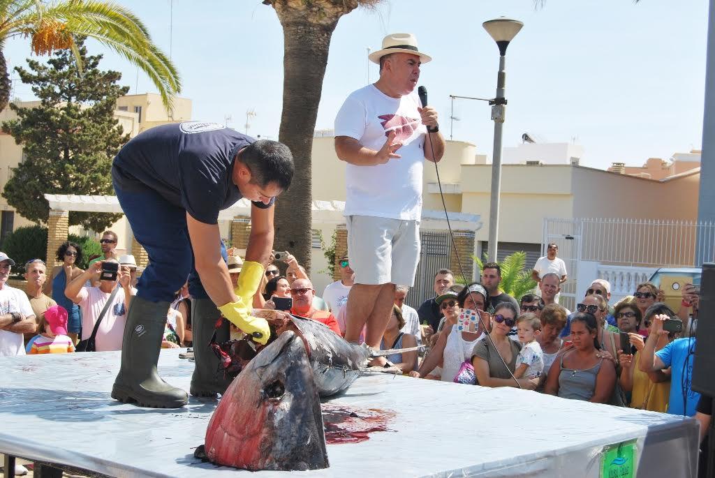 Comienza una semana dedicada al atún en Isla Cristina