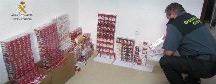 Incautan 893 cajetillas de tabaco de contrabando en varios establecimientos de Isla Cristina