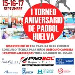"""El Saladillo acoge el """"I Torneo Nacional Aniversario Padbol Huelva"""""""