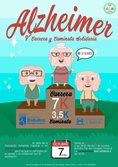 Bollullos acoge la V Carrera y Caminata Solidaria del Alzheimer