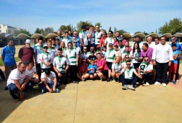 Entrega de Trofeos Campeonato Andalucía de Clubes de Petanca Celebrado en Isla Cristina