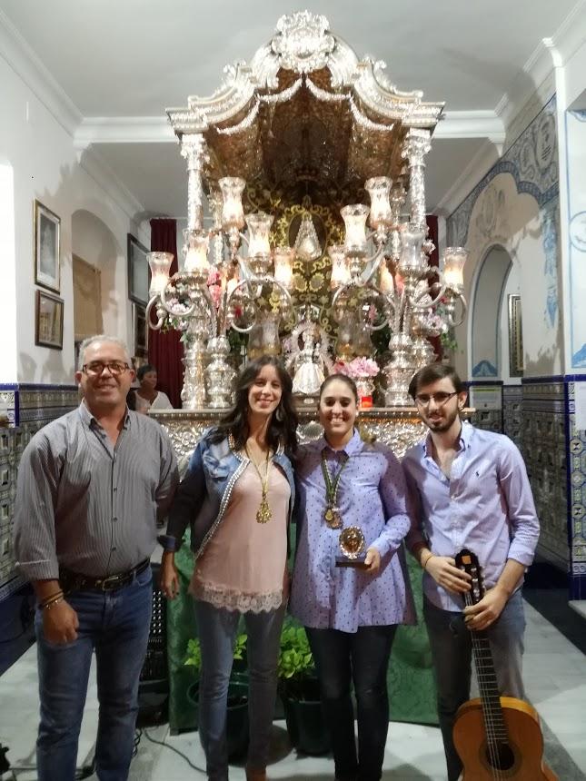 Magia pura con Desirée Márquez Carrasco en La Salve rociera de Isla Cristina