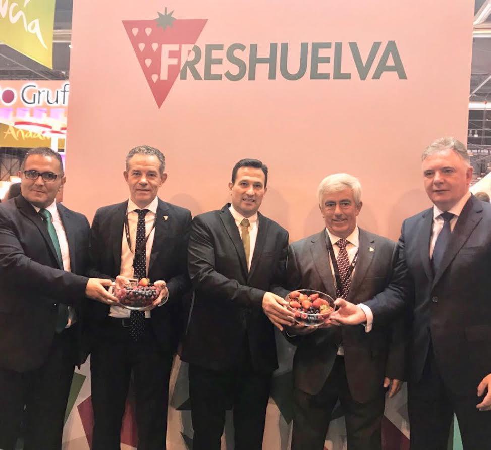 Isla Cristina representado en la Fruit Attraction de Madrid