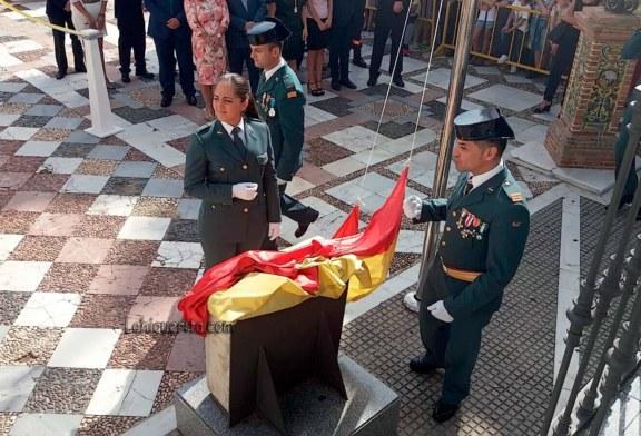 Isla Cristina conmemora el 12 de Octubre, día de la Virgen del Pilar y patrona de la Guardia Civil