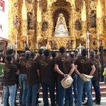 Salve al Simpecado en la Casa Hermandad de Isla Cristina
