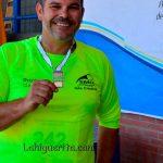 """Oro y Bronce para los atletas isleños Toni Palma, Marcos Alonso y Juan José González, en la """"I Reunión de Atletismo Ciudad de Tomares"""""""