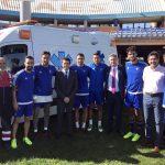 El Consorcio de Transporte Sanitario de Huelva apoyará al Recre toda la temporada