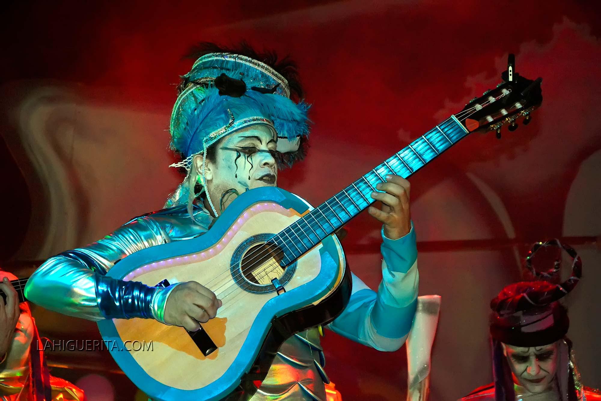 """Raúl Aponte Cruz """"Guitarra de plata"""" del Carnaval de Isla Cristina 2018"""