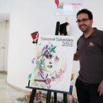 La mirada carnavalera de Chema Riquelme será el Cartel anunciador del Carnaval Colombino 2018