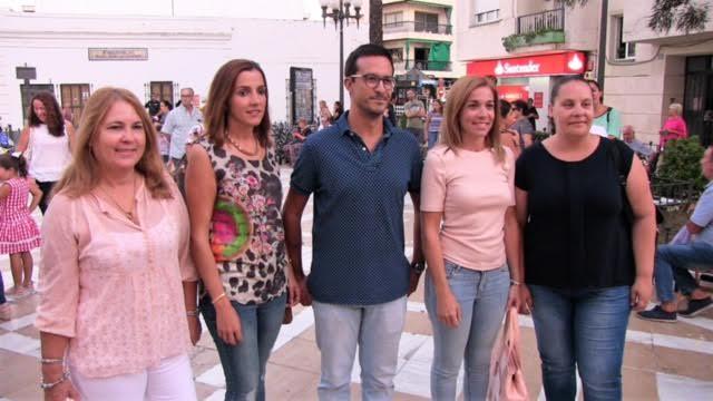 El encendido del alumbrado dio el inicio a las Fiestas Patronales en Isla Cristina