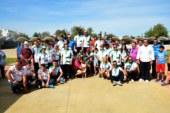 Entrega de trofeos de la Liga andaluza de Clubes y Copa Federación 2017 de petanca en Isla Cristina